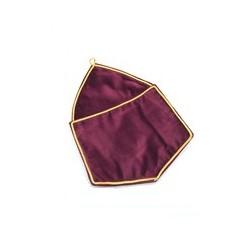 Alms Bag Crimson Velvet