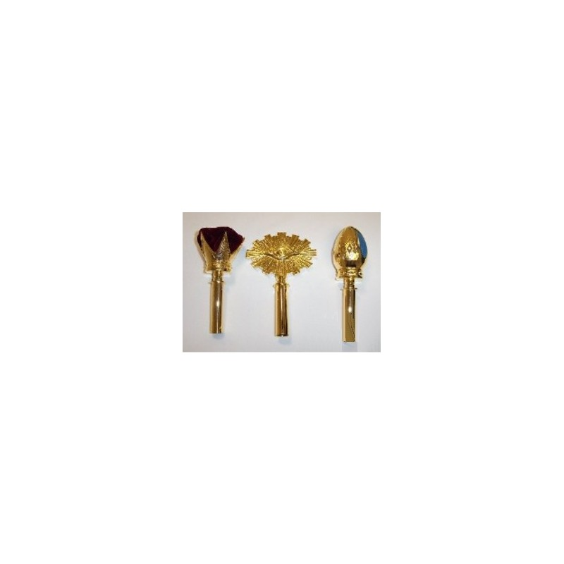Principal's Sceptres Set Of 3 (Tops Only)