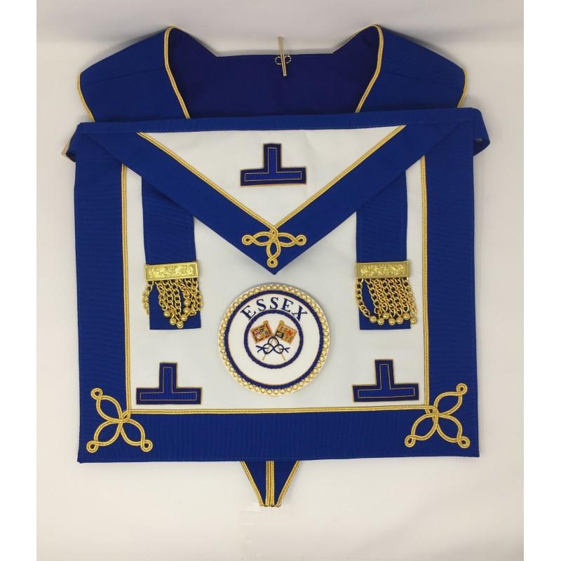 Craft Provincial/Metropolitan Masonic Undress Apron & Collar (Standard  Quality) with Badge
