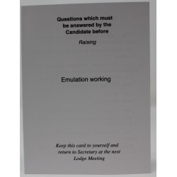 Emulation Raising Question...